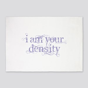 I Am Your Density - Purple 5'x7'Area Rug