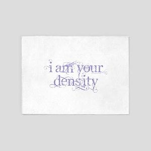 I Am Your Density - Purple 5'x7'Area Rug
