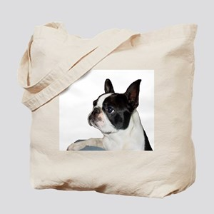 Boston Terrier - Pleading Eye Tote Bag