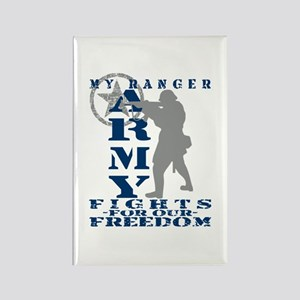 Ranger Fights Freedom - ARMY Rectangle Magnet