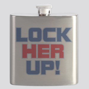 LOCK HER UP! Flask