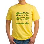 Agility Novice Yellow T-Shirt