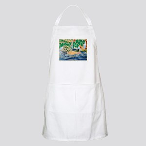 Wood Duck BBQ Apron