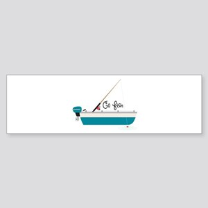 Go Fish Bumper Sticker