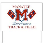 Hurricanes Track & Field Yard Sign