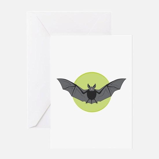 Halloween Bat Greeting Cards