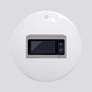 Microwave Round Ornament