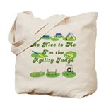Agility Judge Tote Bag