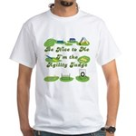 Agility Judge White T-Shirt