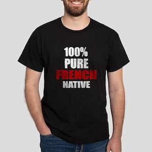 100 % Pure French Native Dark T-Shirt