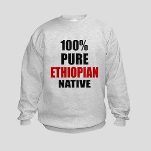 100 % Pure Ethiopian Native Kids Sweatshirt