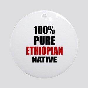100 % Pure Ethiopian Native Round Ornament