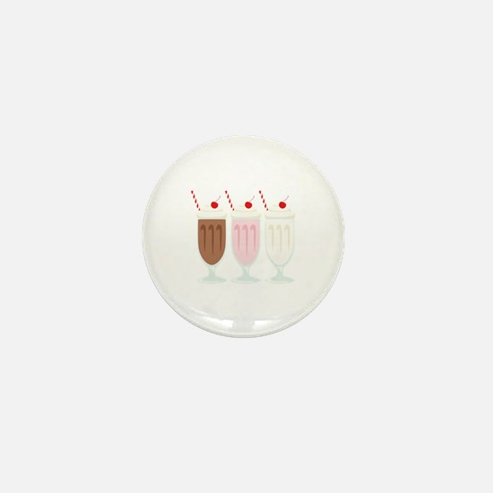 Milkshakes Mini Button