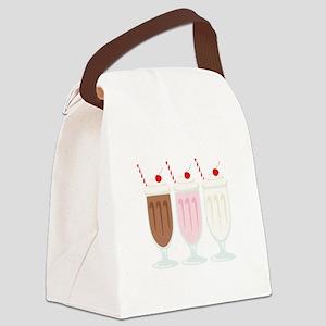 Milkshakes Canvas Lunch Bag