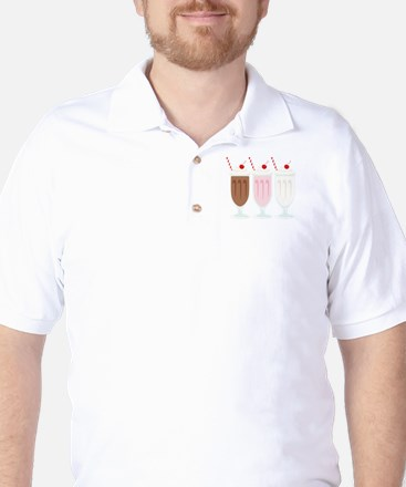 Milkshakes Golf Shirt