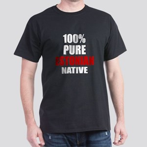 100 % Pure Estonian Native Dark T-Shirt