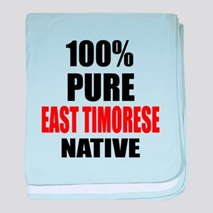 100 % Pure East Timorese Native baby blanket