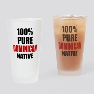 100 % Pure Dominican Native Drinking Glass