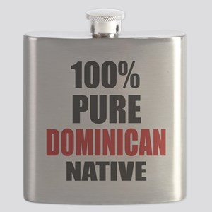 100 % Pure Dominican Native Flask