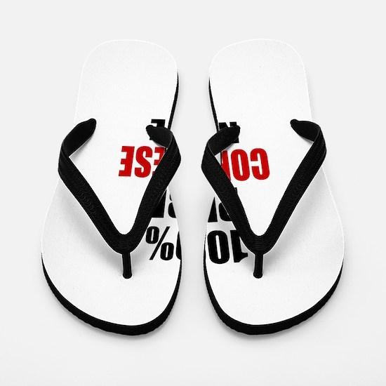 100 % Pure Congolese Native Flip Flops