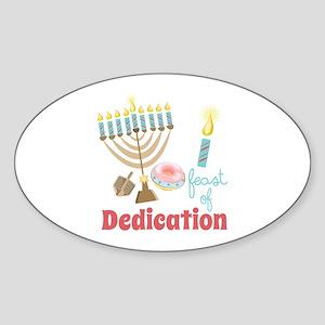 Dedication Feast Sticker