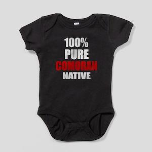 100 % Pure Comoran Native Baby Bodysuit