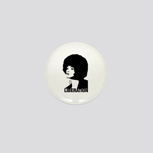Angela's Liberation Mini Button