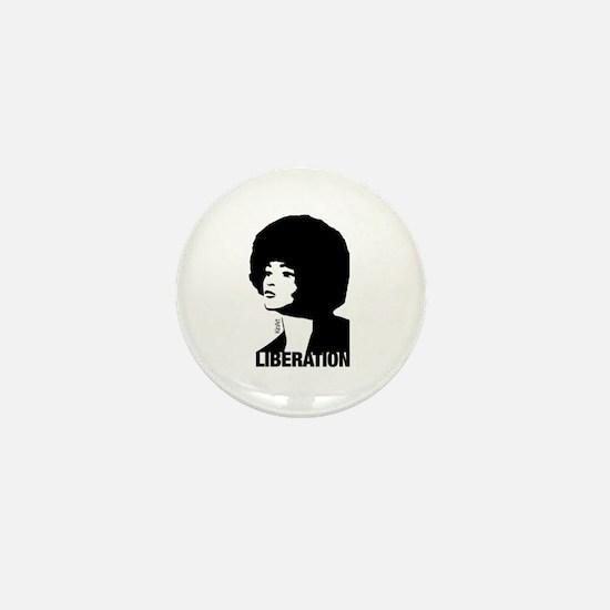 Angela's Liberation Mini Button