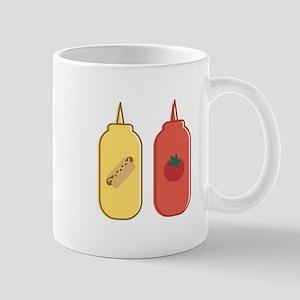 Mustard & Ketchup Mugs