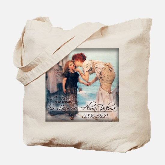 A KISS - oil on canvas 1891 Tote Bag