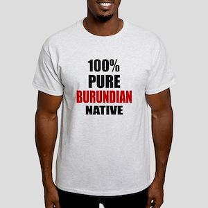 100 % Pure Burundian Native Light T-Shirt