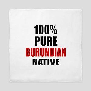 100 % Pure Burundian Native Queen Duvet