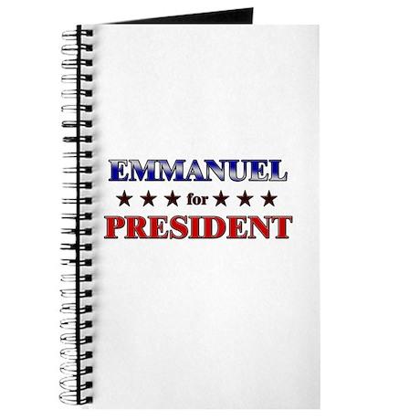 EMMANUEL for president Journal