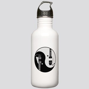 Guitar Yin Yang Sports Water Bottle