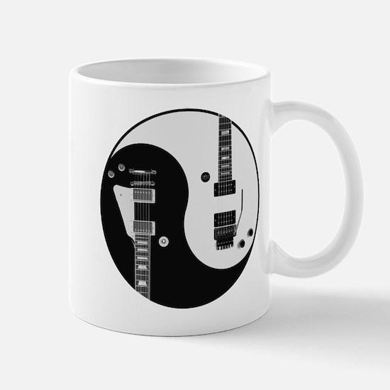Guitar Yin Yang Mugs