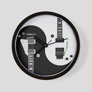 Guitar Yin Yang Wall Clock