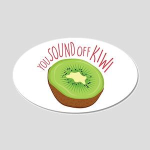Sound Off Kiwi Wall Decal