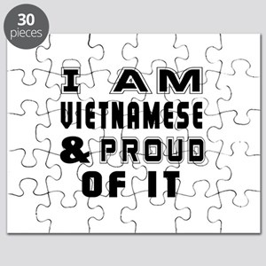 I Am Vietnamese And Proud Of It Puzzle