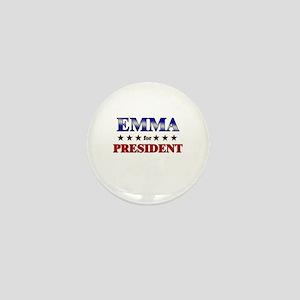 EMMA for president Mini Button