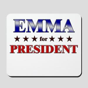 EMMA for president Mousepad