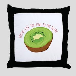 Got The Kiwi Throw Pillow