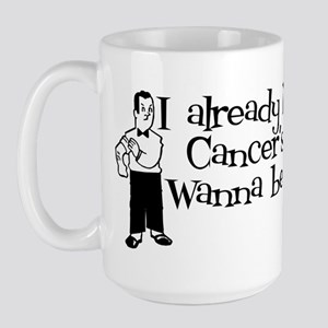 Kicked Cancer's Ass Large Mug