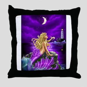 Oceans Apart Throw Pillow