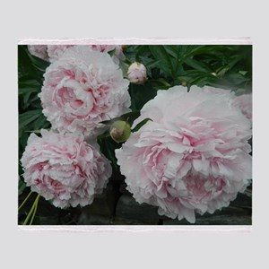 Peony Throw Blanket