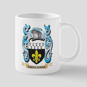 Dickerman Coat of Arms - Family Crest Mugs