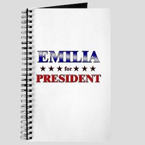 EMILIA for president Journal