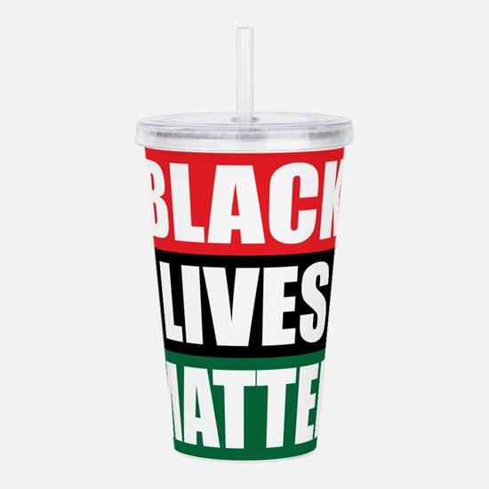 Black Lives Matter Acrylic Double-wall Tumbler