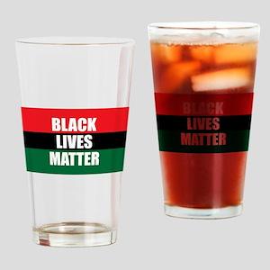 Black Lives Matter Drinking Glass