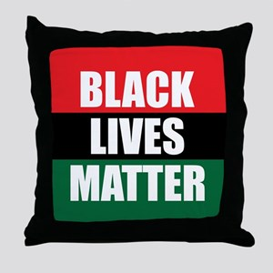 Black Lives Matter Throw Pillow