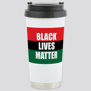 Black Lives Matter Stainless Steel Travel Mug
